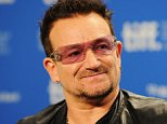 """TORONTO, ON - SEPTEMBER 09:  Musician Bono of U2 speaks onstage at """"From The Sky Down"""" Press Conference during 2011 Toronto International Film Festival on September 9, 2011 in Toronto, Canada.  (Photo by Jason Merritt/Getty Images)"""