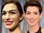 A never before seen wax figure of Anne Hathaway is unveiled and is on display at Madame Tussauds in New York City on November 13, 2014. Madame Tussauds is a wax museum founded by wax sculptor Marie Tussaud with branches in a number of major cities.    UPI/John Angelillo / eyevine\\n\\nContact eyevine for more information about using this image:\\nT: +44 (0) 20 8709 8709\\nE: info@eyevine.com\\nhttp://www.eyevine.com