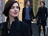 EXCLUSIVE: Anne Hathaway and her husband Adam Shulman seen shopping around SoHo on Wednesday afternoon in New York City, USA, on November 12, 2014.\n\nPictured: Anne Hathaway and Adam Shulman\nRef: SPL882838  121114   EXCLUSIVE\nPicture by: Splash News\n\nSplash News and Pictures\nLos Angeles:\t310-821-2666\nNew York:\t212-619-2666\nLondon:\t870-934-2666\nphotodesk@splashnews.com\n