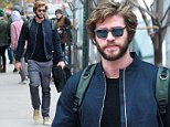 Picture Shows: Liam Hemsworth  November 16, 2014    'The Hunger Games' actor Liam Hemsworth spotted out and about in New York City, New York. Liam and his co-stars made an appearance on 'Saturday Night Live' last night.    Non-Exclusive  UK RIGHTS ONLY    Pictures by : FameFlynet UK © 2014  Tel : +44 (0)20 3551 5049  Email : info@fameflynet.uk.com