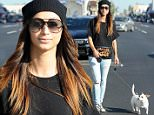 Picture Shows: Cara Santana  November 16, 2014\n \n 'Reunion' actress Cara Santana is spotted out and about in West Hollywood, California with her dog on November 16, 2014. Cara was without her boyfriend of six years, Jesse Metcalfe.\n \n Non-Exclusive\n UK RIGHTS ONLY\n \n Pictures by : FameFlynet UK © 2014\n Tel : +44 (0)20 3551 5049\n Email : info@fameflynet.uk.com