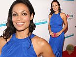 CABO SAN LUCAS, MEXICO - NOVEMBER 15:  Actress Rosario Dawson attends The Los Cabos International Film Festival Closing Night Gala on November 15, 2014 in Cabo San Lucas, Mexico.  (Photo by Jesse Grant/Getty Images  for Leisure Opportunities)