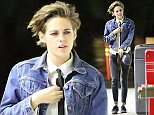 Kristen Stewart wears a tie and a jean jacket while hanging out with the girls after her nip slip at the Young Hollywood Awards yesterday on November 15, 2014   X17online.com NO WEB SITE USAGE\\nDOUBLE FEES FOR MAGAZINES\\nAny queries call X17 UK Office /0034 966 713 949/926 \\nAlasdair 0034 630576519 \\nGary 0034 686421720\\nLynne 0034 611100011