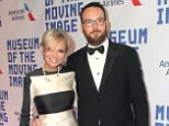 Mandatory Credit: Photo by Carolyn Contino/BEI/REX (3691622ab).. Kristin Chenoweth and Dana Brunetti.. Museum Of The Moving Image 28th Annual Salute Honoring Kevin Spacey, New York, America - 09 Apr 2014.. ..