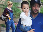 EXCLUSIVE: Donald Faison and a pregnant CaCee Cobb take Rocco to lunch at The Six cafe then go shopping at Disney and Williams Sonoma in Sherman Oaks on Saturday.\n\nPictured: Rocco Faison and CaCee Cobb\nRef: SPL890497  151114   EXCLUSIVE\nPicture by: REELPIX/Splash News\n\nSplash News and Pictures\nLos Angeles: 310-821-2666\nNew York: 212-619-2666\nLondon: 870-934-2666\nphotodesk@splashnews.com\n