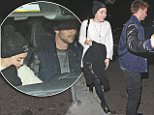 Saturday Night fever! Inseparable Miley Cyrus and Patrick Schwarzenegger leaving sushi restaurant Katsuya in Brentwood Saturday night Nov 15, 2014 X17online.com\\nNO WEB SITE USAGE\\nDOUBLE FEES FOR MAGAZINE USAGE \\nAny queries call X17 UK Office /0034 966 713 949/926 \\nAlasdair 0034 630576519 \\nGary 0034 686421720\\nLynne 0034 611100011