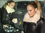 Jennifer Lopez wearing a black leather jacket with a fur colar and checked pants was seen leaving Ceconni's Italian Restaurant in West Hollywood, CA\n\nPictured: Jennifer Lopez\nRef: SPL891517  161114  \nPicture by: SPW / Splash News\n\nSplash News and Pictures\nLos Angeles: 310-821-2666\nNew York: 212-619-2666\nLondon: 870-934-2666\nphotodesk@splashnews.com\n