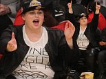 Friday November 14, 2014; Rebel Wilson out at the Lakers game. The San Antonio Spurs defeated the Los Angeles Lakers by the final score of 93-80 at Staples Center in downtown in Los Angeles, CA.\n\nRef: SPL890748  141114  \nPicture by: London Ent / Splash News\n\nSplash News and Pictures\nLos Angeles: 310-821-2666\nNew York: 212-619-2666\nLondon: 870-934-2666\nphotodesk@splashnews.com\n