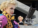 The Voice judge Gwen Stefani spotted shooting a big canon on top of a high rise building for a mastercard commercial being directed by Giovanni Ribisi in downtown Los Angeles.\nFeaturing: Gwen Stefani\nWhere: Los Angeles, California, United States\nWhen: 15 Nov 2014\nCredit: Cousart/JFXimages/WENN.com