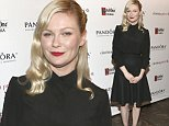 """WEST HOLLYWOOD, CA - NOVEMBER 16:  Actress Kirsten Dunst attends PANDORA Jewelry Presents """"A Most Violent Year"""" At cinema prive on November 16, 2014 in West Hollywood, California.  (Photo by Rich Polk/Getty Images for cinema prive)"""