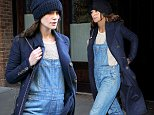 Mandatory Credit: Photo by Startraks Photo/REX (4255093i)\n Keira Knightley\n Keira Knightley out and about, Los Angeles, America - 19 Nov 2014\n Keira Knightley leaves her TriBeCa Hotel\n