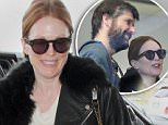 18.NOVEMBER.2014 - LOS ANGELES - USA\n***STRICTLY NOT AVAILABLE FOR DAILY MAIL ONLINE ***\nAMERICAN ACTRESS JULIANNE MOORE AND HER HUSBAND BART FREUNDLICH MAKE THEIR WAY THROUGH LOS ANGELES INTERNATIONAL AIRPORT ( LAX )\nBYLINE MUST READ : XPOSUREPHOTOS.COM\n*AVAILABLE FOR UK SALE ONLY*\n***UK CLIENTS - PICTURES CONTAINING CHILDREN PLEASE PIXELATE FACE PRIOR TO PUBLICATION ***\n*UK CLIENTS MUST CALL PRIOR TO TV OR ONLINE USAGE PLEASE TELEPHONE 0208 344 2007*