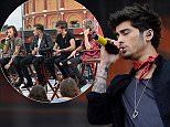 File photo dated 24/05/14 of Zayn Malik of One Direction as their fans rushed to the boyband's defence after footage was published appearing to show two of them smoking cannabis. \n\n\n\n\nPRESS ASSOCIATION Photo. Issue date: Wednesday May 28, 2014. See PA story SHOWBIZ OneDirection. Photo credit should read: Mark Runnacles/PA Wire