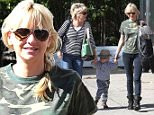 18 November 02014 - WEST HOLLYWOOD - USA\n*** EXCLUSIVE ALL ROUND PICTURES AVAILABLE FOR UK ONLY ***\nACTRESS ANNA FARIS OUT WITH HER FAMILY AND SON JACK PRATT ARE SEEN HEADING FOR LUNCH IN WEST HOLLYWOOD, CALIFORNIA\nBYLINE MUST READ : XPOSUREPHOTOS.COM\n***UK CLIENTS - PICTURES CONTAINING CHILDREN PLEASE PIXELATE FACE PRIOR TO PUBLICATION *** CLIENTS MUST CALL PRIOR TO TV OR ONLINE USAGE PLEASE TELEPHONE 020 8344 2007