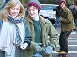 Picture Shows: Naomi Watts, Elle Fanning  November 19, 2014\n \n Actresses Elle Fanning and Naomi Watts film scenes for their new movie 'Three Generations' in New York City, New York.\n \n Elle showed off her skateboarding skills, as she road her board down the street with ease!\n \n Non Exclusive\n UK RIGHTS ONLY\n \n Pictures by : FameFlynet UK © 2014\n Tel : +44 (0)20 3551 5049\n Email : info@fameflynet.uk.com