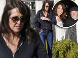 COLEMAN-RAYNER EXCLUSIVE. 17 NOV 2014 - Robin Williams widow Susan Schneider manages a smile as she steps out for a stroll with a mystery man three months after the comedian's tragic suicide.  The widow was still wearing her wedding ring as she walked with a male friend and her pet cat which was on a small blue leash. Susan was spotted near their $7m home in Tiburon, Marin County, which she shared with Robin and where he was found dead after hanging himself on August 11th 2014. Details of her late husband's will were made public last week, revealing that Robin's $50 million fortune will be split between his children, with Susan getting a smaller slice.   It is not known whether Susan will be able to stay at the house under the terms of the prenup of whether she will get the proceeds of the property if it is sold.\nCREDIT LINE MUST READ: AnthonyTaafe/Coleman-Rayner\nTel US (001) 310-4744343- office \nTel US (001) 323 5457584 - cell\nwww.coleman-rayner.com