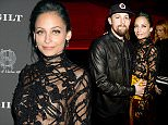 HOLLYWOOD, CA - NOVEMBER 18: Joel Madden and Nicole Richie  at Chateau Marmont's Bar Marmont on November 18, 2014 in Hollywood, California. (Photo by Jeff Kravitz/FilmMagic)