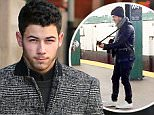 Picture Shows: Nick Jonas  November 18, 2014\n \n Singer Nick Jonas makes a morning coffee run in New York City, New York.\n \n Nick treated his fans to a surprise performance over the weekend, playing an impromptu show at a subway station in New York City!\n \n Non Exclusive\n UK RIGHTS ONLY\n \n Pictures by : FameFlynet UK © 2014\n Tel : +44 (0)20 3551 5049\n Email : info@fameflynet.uk.com