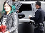 Kylie Jenner  was pulled over for speeding and making an illegal u turn in Chatsworth today after picking up a donut and an apple juice from a donut shop. She was issued a ticket for the infractions by the LAPD. She has already had two infractions since she became a licensed driver. The 17 year old might want to calm down before she loses her license. November 18, 2014 X17online.com\nEXCLUSIVE\nNO WEB SITE USAGE.\nDOUBLE FEES MAGAZINES\nAny quieries please call Alasdair or Gary on office 0034 966 713 949/926 or mibile Gary 0034 686 421 720 or Alasdair on 0034 630 576 519