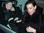 ***MINIMUM FEE TO BE AGREED BEFORE USE*** EXCLUSIVE: Celebs leave the Sir David Tang's birthday party held at the China Tang restaurant at the Dorchester hotel, London, UK  Pictured: Dave Gardner, Liv Tyler Ref: SPL892823  181114   EXCLUSIVE Picture by: Splash News  Splash News and Pictures Los Angeles: 310-821-2666 New York: 212-619-2666 London: 870-934-2666 photodesk@splashnews.com