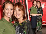 LONDON, ENGLAND - NOVEMBER 18:  Christy Turlington Burns (L) and Yasmin Le Bon attend a screening hosted by PORTER in honour of cover girl Christy Turlington Burns and her charity Every Mother Counts at The Bulgari Hotel on November 18, 2014 in London, England.  (Photo by David M. Benett/Getty Images)