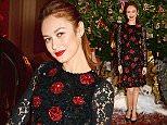 LONDON, ENGLAND - NOVEMBER 19:  Olga Kurylenko attends the Claridge's & Dolce and Gabbana Christmas Tree party at Claridge's Hotel on November 19, 2014 in London, England.  (Photo by David M. Benett/Getty Images for Claridge's)