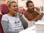 Picture Shows: Kerry Katona  November 19, 2014\n \n ** Min Web / Online Fee £150 For Set **\n \n Kerry Katona and her husband George get  brand new  teeth at the Harley Street Smile Clinic from Dr Maurice Johannes.\n \n Kerry was in good spirits as she grinned at her reflection in a car window and joked with the dental assistant.\n \n ** Min Web / Online Fee £150 For Set **\n \n Exclusive All Rounder\n WORLDWIDE RIGHTS\n Pictures by : FameFlynet UK © 2014\n Tel : +44 (0)20 3551 5049\n Email : info@fameflynet.uk.com