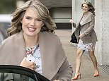 TV presenter Charlotte Hawkins is pictured leaving the ITV studios after co-presenting 'Good Morning Britain'.  Pictured: Charlotte Hawkins Ref: SPL895710  211114   Picture by: Simon Earl / Splash News  Splash News and Pictures Los Angeles: 310-821-2666 New York: 212-619-2666 London: 870-934-2666 photodesk@splashnews.com