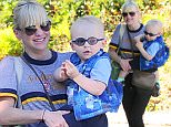 "Picture Shows: Anna Faris, Jack Pratt  November 21, 2014\n \n ""Mom"" star Anna Faris is spotted out and about with her son Jack in Los Angeles, California. Anna and Jack looked adorable in matching sunglasses.\n \n Non Exclusive\n UK RIGHTS ONLY\n \n Pictures by : FameFlynet UK © 2014\n Tel : +44 (0)20 3551 5049\n Email : info@fameflynet.uk.com"