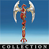 Revenge Of The Dragon Slayer Dragon Collectible Axe Wall Decor Collection - Dragon Wall Decor Collection Captures the Power and Drama of Medieval Legend! Exclusive Limited-edition Dragon Collectibles!