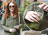 Julianne Moore out for a walk in the West Village NYC.\n\nPictured: Julianne Moore\nRef: SPL898683  251114  \nPicture by: Ron Asadorian / Splash News\n\nSplash News and Pictures\nLos Angeles: 310-821-2666\nNew York: 212-619-2666\nLondon: 870-934-2666\nphotodesk@splashnews.com\n