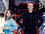 crop_WARNING: Embargoed for publication until: 25/11/2014 - Programme Name: Doctor Who Christmas Special - TX: n/a - Episode: n/a (No. 1) - Picture Shows: +++Publication of this image is strictly embargoed until 00.01 hours Tuesday November 25th 2014++  Christmas 2014 Wolf (NATHAN McMULLEN), Ian (DAN STARKY), The Doctor (PETER CAPALDI), Clara (JENNA COLEMAN), Santa Claus (NICK FROST) - (C) BBC - Photographer: David Venni