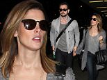 ©2014 RAMEY PHOTO 310-828-3445\nEXCLUSIVE!\nLos Angeles, California, November 26, 2014\nAshley Greene and boyfriend Paul Khoury heading to Portland from LAX.\nPRB12