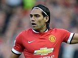 File photo dated 14-09-2014 of Manchester United's Radamel Falcao during the Barclays Premier League match at Old Trafford, Manchester. PRESS ASSOCIATION Photo. Issue date: Friday November 28, 2014. Radamel Falcao and Marcos Rojo may be back to provide a huge boost for Manchester United against Hull on Saturday. See PA story SOCCER Man Utd Team. Photo credit should read Martin Rickett/PA Wire.