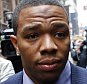 """FILE - In this Nov. 5, 2014, file photo, Ray Rice arrives with his wife Janay Palmer for an appeal hearing of his indefinite suspension from the NFL in New York.   Rice has won the appeal of his indefinite suspension by the NFL, which has been """"vacated immediately,"""" the NFL football players' union said Friday, Nov. 28, 2014. (AP Photo/Jason DeCrow, File)"""