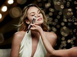 Candice Swanepoel Behind the Scenes for Max Factor Skin Luminizer Foundation9.jpg