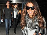 27 Nov 2014 - LONDON - UK *** EXCLUSIVE ALL ROUND PICTURES *** *** STRICTLY NOT AVAILABLE FOR MAIL ONLINE AND ANY ONLINE SUBSCRIPTION DEALS UNLESS FEE AGREED PRIOR TO USAGE*** ***NO AUSTRAILIA AND NEW ZEALAND*** UNDERWORLD ACTRESS KATE BECKINSALE AND HUSBAND LEN WISEMAN ARE ALL SMILES AS THEY ARRIVE AT HEATHROW ON THANKSGIVING! BYLINE MUST READ : XPOSUREPHOTOS.COM ***UK CLIENTS - PICTURES CONTAINING CHILDREN PLEASE PIXELATE FACE PRIOR TO PUBLICATION *** **UK CLIENTS MUST CALL PRIOR TO TV OR ONLINE USAGE PLEASE TELEPHONE 44 208 344 2007**