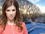 Anna Kendrick attends the junket for the movie Into The Woods in New York City, NY, USA, November 23, 2014. Photo by HT/ABACAPRESS.COM