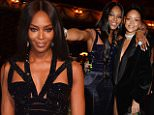 LONDON, ENGLAND - DECEMBER 01:  Naomi Campbell (L) and Rihanna attend a drinks reception at the British Fashion Awards at the London Coliseum on December 1, 2014 in London, England.   Pic Credit: Dave Benett