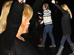 Picture Shows: Kurt Russell, Goldie Hawn  November 30, 2014\n \n Celebrity couple Kurt Russell and Goldie Hawn spotted out for dinner on a rainy night in Brentwood, California. \n \n The pair dressed down in casual outfits and acknowledged the cameras as they passed by.\n \n Exclusive - All Round\n UK RIGHTS ONLY\n \n Pictures by : FameFlynet UK © 2014\n Tel : +44 (0)20 3551 5049\n Email : info@fameflynet.uk.com
