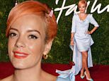 Mandatory Credit: Photo by David Fisher/REX (4273048bn)\n Lily Allen\n British Fashion Awards, London Coliseum, Britain - 01 Dec 2014\n \n