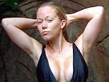 ***EMBARGO NOT TO BE USED BEFORE 21:00, 21 Nov 2014 - EDITORIAL USE ONLY - NO MERCHANDISING***  Mandatory Credit: Photo by REX (4266786al)  Kendra Wilkinson in the shower  'I'm A Celebrity...Get Me Out Of Here!' TV Programme, Australia - 21 Nov 2014