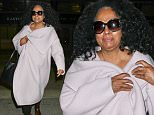 30 Nov 2014 - LOS ANGELES - USA  SINGER DIANA ROSS ARRIVED AT LOS ANGELES AIRPORT FROM LONDON SUNDAY EVENING.  BYLINE MUST READ : XPOSUREPHOTOS.COM  ***UK CLIENTS - PICTURES CONTAINING CHILDREN PLEASE PIXELATE FACE PRIOR TO PUBLICATION ***  **UK CLIENTS MUST CALL PRIOR TO TV OR ONLINE USAGE PLEASE TELEPHONE  44 208 344 2007 ***