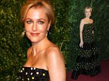 30th November 2014\n\nLondon Evening Standard Theatre Awards held at The London Palladium, Argyll Street, London.\n\nHere:Gillian Anderson-\n\nCredit : Justin Goff/goffphotos.com