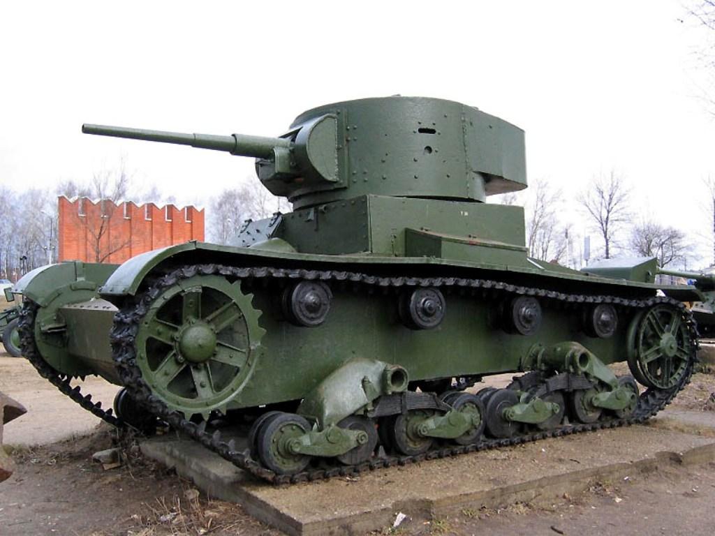 Главная ударная сила войн - танки
