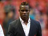Liverpool's Mario Balotelli before the Barclays Premier League match at Anfield, Liverpool. PRESS ASSOCIATION Photo. Picture date: Saturday November 29, 2014. See PA story SOCCER Liverpool. Photo credit should read Peter Byrne/PA Wire. Editorial use only. Maximum 45 images during a match. No video emulation or promotion as 'live'. No use in games, competitions, merchandise, betting or single club/player services. No use with unofficial audio, video, data, fixtures or club/league logos.