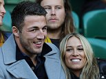 International Rugby, England V Australia 27/11/14: Kevin Quigley/Daily Mail/Solo Syndication Sam Burgess watches on