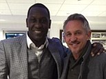 GARY LINEKER TWITTER PICTURE - Went to the same school, played for the same club, and the same country....different tailor though @EmileHeskeyUK