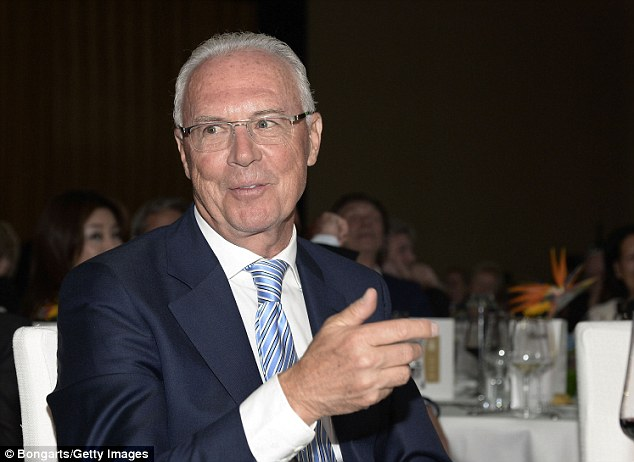 Banned: FIFA have suspended former Executive Committee member Franz Beckenbauer from football activities for 90 days after he refused to co-operate into an investigation into the Qatar 2022 World Cup bid