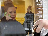 Picture Shows: Iggy Azalea  December 02, 2014\n \n Australian rapper Iggy Azalea stops by Dr. Tattoff in Studio City, California. Iggy was seen sporting a bandage on her pinky finger, sparking rumours that she is in the process of removing her ex-boyfriend A$AP Rocky's name.\n \n Non-Exclusive\n UK RIGHTS ONLY\n \n Pictures by : FameFlynet UK © 2014\n Tel : +44 (0)20 3551 5049\n Email : info@fameflynet.uk.com